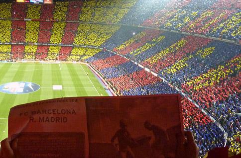 Clásico im Camp Nou